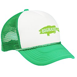 View a larger, more detailed picture of the Foam Trucker Cap - Screen