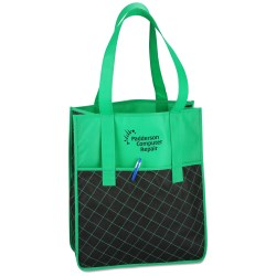 View a larger, more detailed picture of the Quilted Shopper Tote