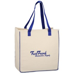 View a larger, more detailed picture of the Hip Cotton Shopper Tote