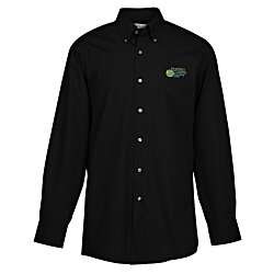 View a larger, more detailed picture of the Van Heusen Silky Poplin Shirt - Men s