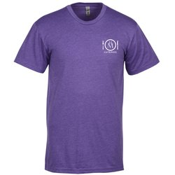 View a larger, more detailed picture of the Next Level CVC 4 3 oz Blend Crew T-Shirt - Men s