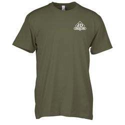 View a larger, more detailed picture of the Next Level Fitted 4 3 oz Crew T-Shirt - Men s - Screen
