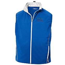 View a larger, more detailed picture of the Clique Softshell Vest - Men s