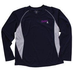 View a larger, more detailed picture of the North End Athletic LS Sport Tee - Ladies - Embroidered