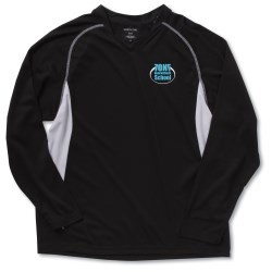 View a larger, more detailed picture of the North End Athletic LS Sport Tee - Men s - Embroidered
