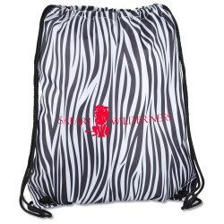 View a larger, more detailed picture of the Designer Drawcord Sportpack - Zebra