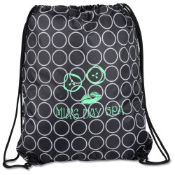 View a larger, more detailed picture of the Designer Drawcord Sportpack - Metro Dot