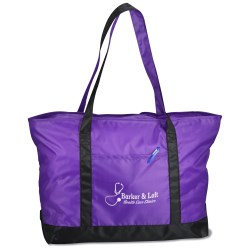 View a larger, more detailed picture of the Nylon Boat Tote - 14 x 23
