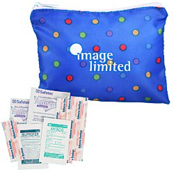 View a larger, more detailed picture of the Fashion First Aid Kit - Polka Dot