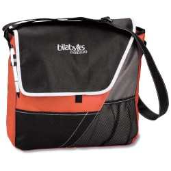 View a larger, more detailed picture of the Accent Messenger Bag - 24 hr