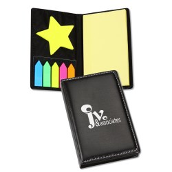 View a larger, more detailed picture of the Adhesive Notes with Die Cut Shape - Star - 24 hr