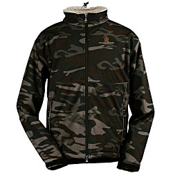 View a larger, more detailed picture of the Clique Softshell Jacket - Men s - Camouflage