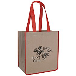 View a larger, more detailed picture of the Color-Me Shopping Tote - 24 hr