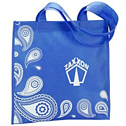 View a larger, more detailed picture of the Paisley Printed Tote - 24 hr