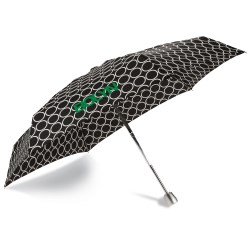 View a larger, more detailed picture of the totes Mini Auto Open Close Umbrella w Case - Metro Dot