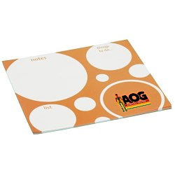 View a larger, more detailed picture of the Bic Note Paper Mouse Pad - Bubbles - 25 Sheet