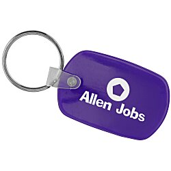 View a larger, more detailed picture of the Standard Shape Soft Key Tag - Opaque