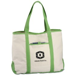 View a larger, more detailed picture of the Topsail Recycled Cotton Tote