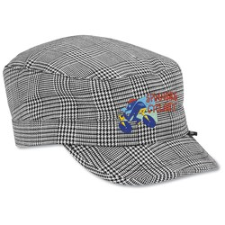 View a larger, more detailed picture of the Peter Grimm Cadet Cap - Black Plaid