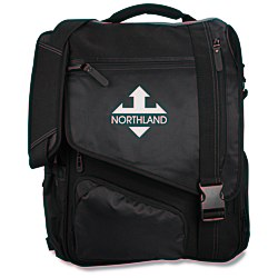 View a larger, more detailed picture of the Life in Motion Momentum Laptop Bag