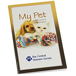 View a larger, more detailed picture of the My Pet Health Guide & Record Keeper