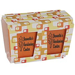 View a larger, more detailed picture of the Promo Planter - Retro Orange - 2 Pack