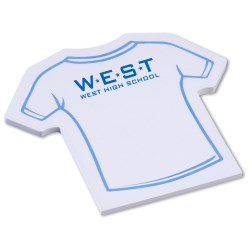 View a larger, more detailed picture of the Post-it&reg Custom Notes - Shirt - 25 Sheet - Stock Design 1