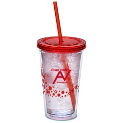 View a larger, more detailed picture of the Dotty Color Scheme Spirit Tumbler - 16 oz