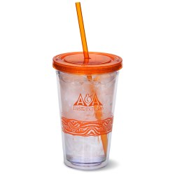 View a larger, more detailed picture of the Catty Color Scheme Spirit Tumbler - 16 oz