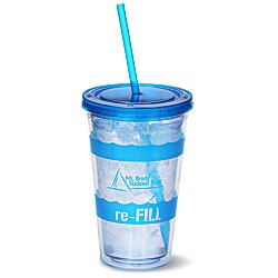 View a larger, more detailed picture of the Wavy Color Scheme Spirit Tumbler - 16 oz