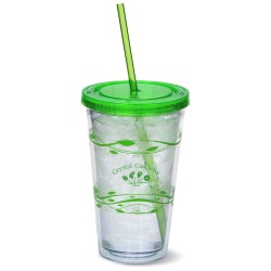 View a larger, more detailed picture of the Fluttery Color Scheme Spirit Tumbler - 16 oz