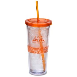View a larger, more detailed picture of the Catty Color Scheme Spirit Tumbler - 20 oz