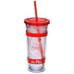 View a larger, more detailed picture of the Wavy Color Scheme Spirit Tumbler - 20 oz
