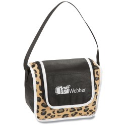 View a larger, more detailed picture of the Printed Poly Pro Lunch Box - Leopard