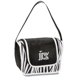 View a larger, more detailed picture of the Printed Poly Pro Lunch Box - Zebra