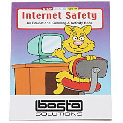 View a larger, more detailed picture of the Internet Safety Coloring Book