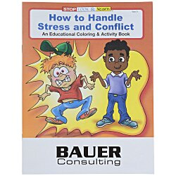View a larger, more detailed picture of the How to Handle Stress & Conflict Coloring Book