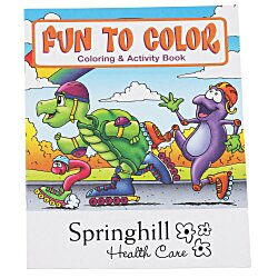 View a larger, more detailed picture of the Fun To Color Coloring Book