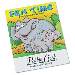 View a larger, more detailed picture of the Fun Time Coloring Book