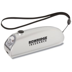 View a larger, more detailed picture of the Dynamo Light and Pocket Knife - Closeout