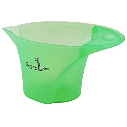 View a larger, more detailed picture of the Vivid Color Measure-Up - 1 cup - Translucent