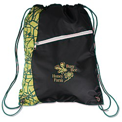 View a larger, more detailed picture of the Designer Drawstring Sportpack
