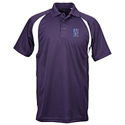 View a larger, more detailed picture of the Blue Generation Raglan Sport Polo - Men s