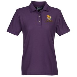 View a larger, more detailed picture of the Blue Generation Teflon Treated Polo - Ladies