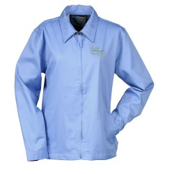 View a larger, more detailed picture of the Blue Generation Teflon Twill Jacket - Ladies - Closeout