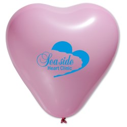 View a larger, more detailed picture of the Balloon - Heart - 11