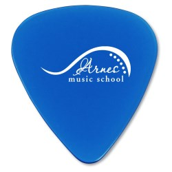 View a larger, more detailed picture of the Guitar Pick - Translucent