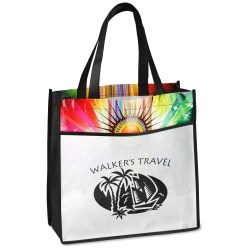 View a larger, more detailed picture of the Laminated Sunburst Tote