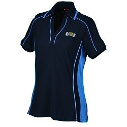 View a larger, more detailed picture of the North End Sport Polyester Pique Polo - Ladies