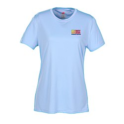 View a larger, more detailed picture of the Hanes 4 oz Cool Dri T-Shirt - Ladies - Embroidered